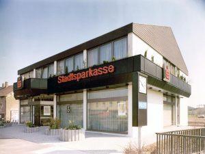 Sparkasse Neunkirchen  |  Neubau Filiale Wellesweiler  |  1981
