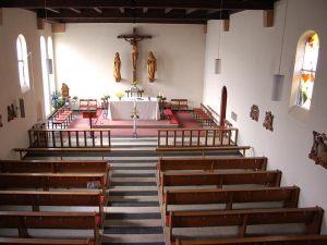 Kirche St. Georg |  Neunkirchen Kohlhof  |  Sanierung 1978