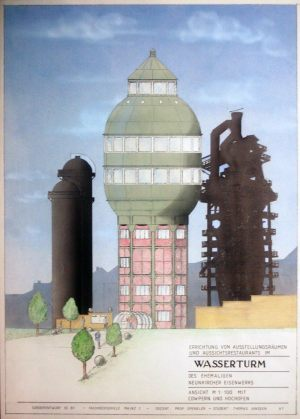 Wasserturm Neunkirchen  |  Entwurf